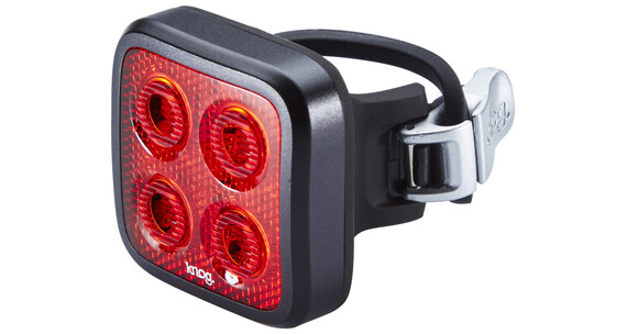 Knog Blinder MOB Four Eyes Fietsverlichting rode LED zwart